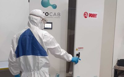 Ozon om bacteriële en virale vervuiling te verwijderen