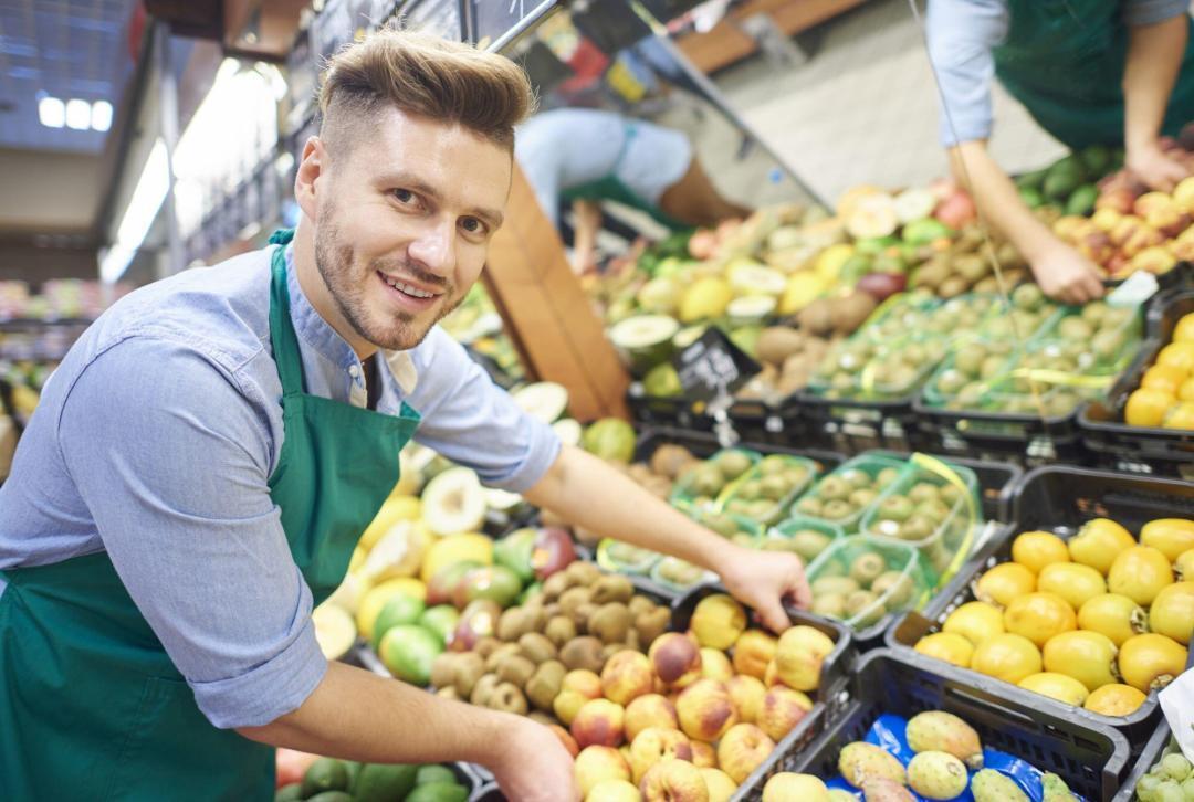 Supermarktmedewerkers
